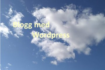 Wordpress på pc'en din