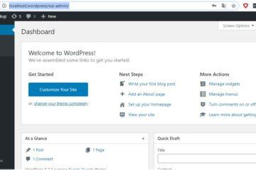 Wordpress Kontrollpanel